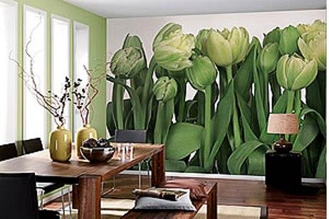 Tulips Mural 8-900