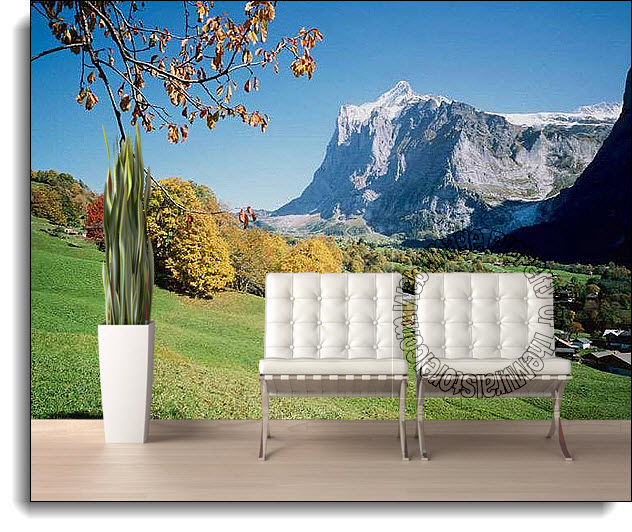Autumn Hill Wall Mural