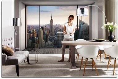 Marvelous Enjoy Spectacular City Views From Your New Penthouse Suite With This Highly  Detailed And Realistic Digital Photo Wall Mural. Each Of Our Wall Murals  Gives ... Part 3