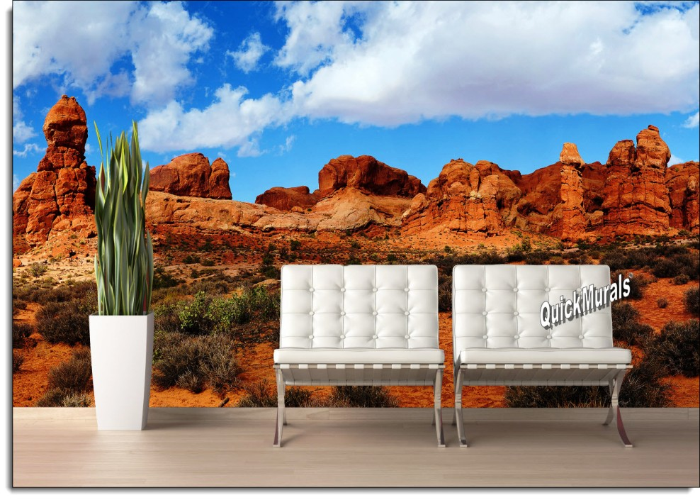 Canyonlands peel and stick wall mural for Desert wall mural
