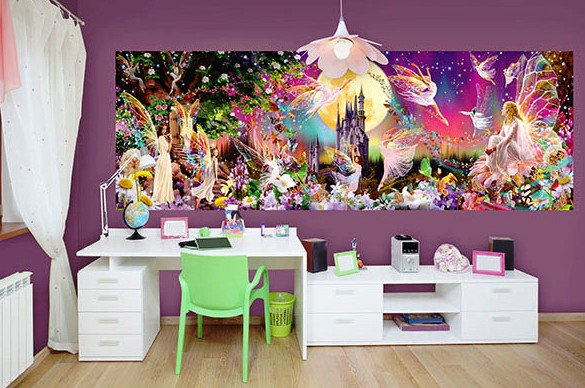 Fairyland Wall Mural DM311 Roomsetting
