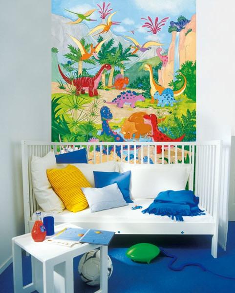 Dino World Wall Mural DM430