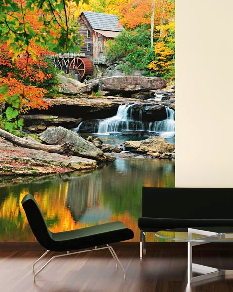 Grist Mill Wall Mural DM437 Roomsetting