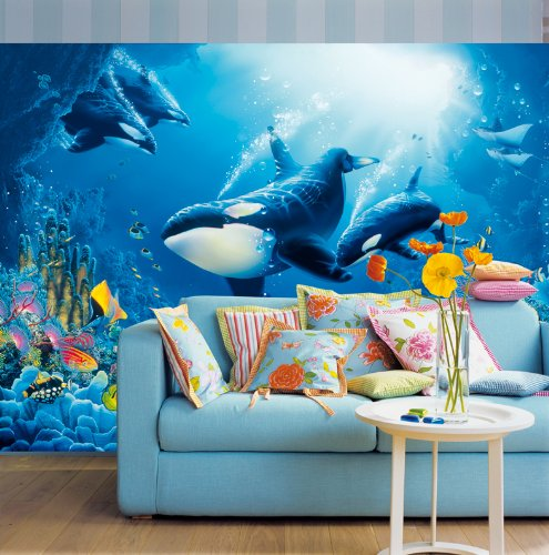 Delight Of Life Wall Mural DM118