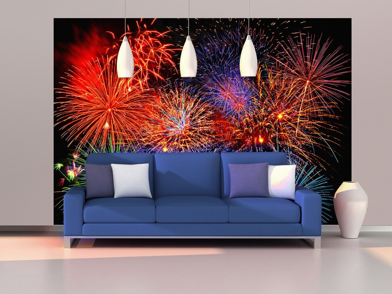 Fireworks Wall Mural DM131