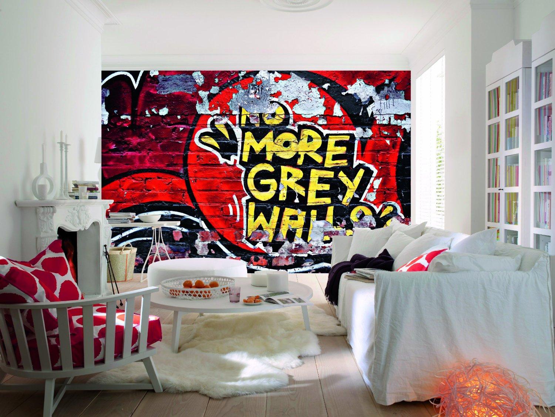 No More Grey Walls Wall Mural DM126