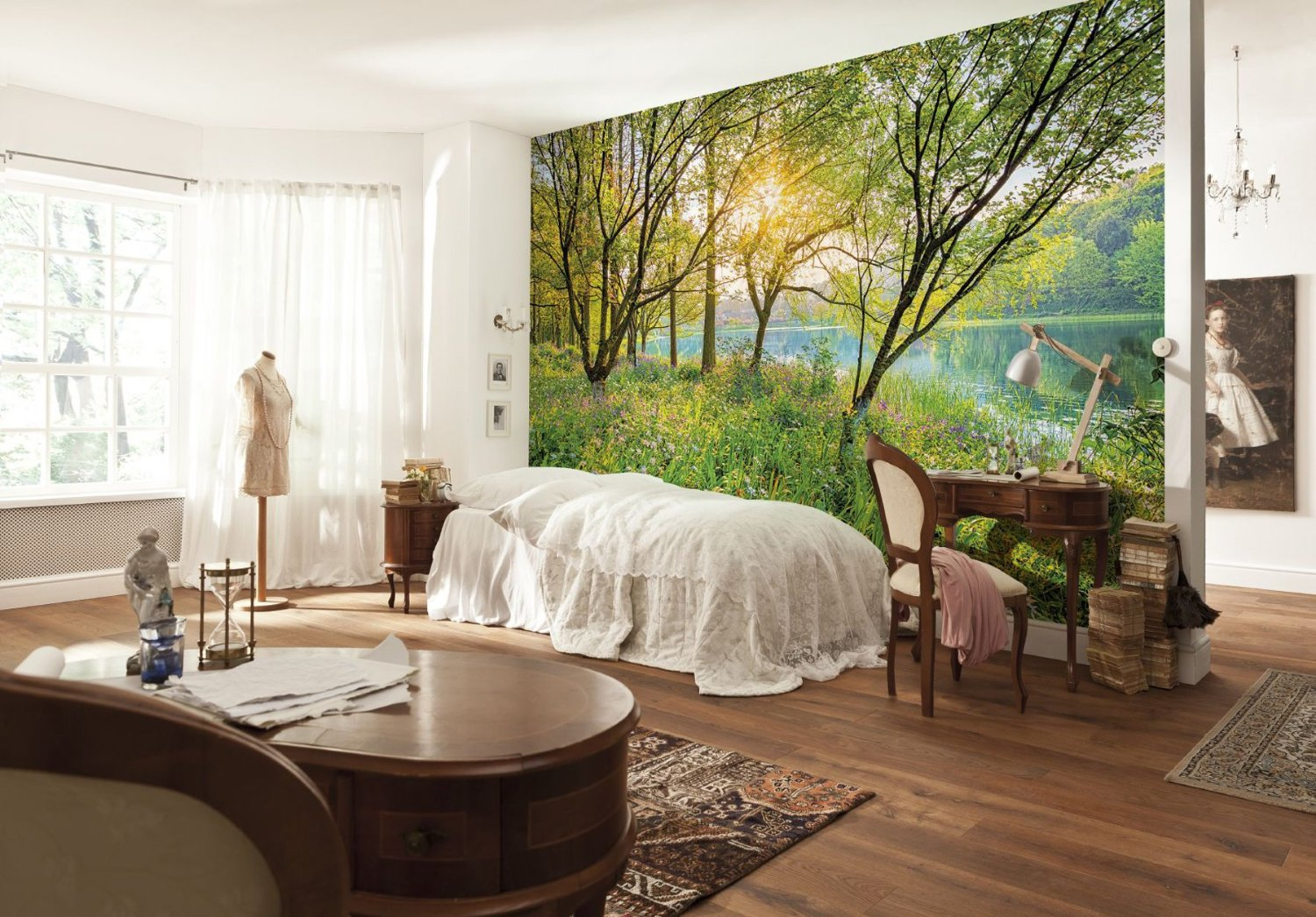 Spring Lake Wall Mural by Komar 8-524