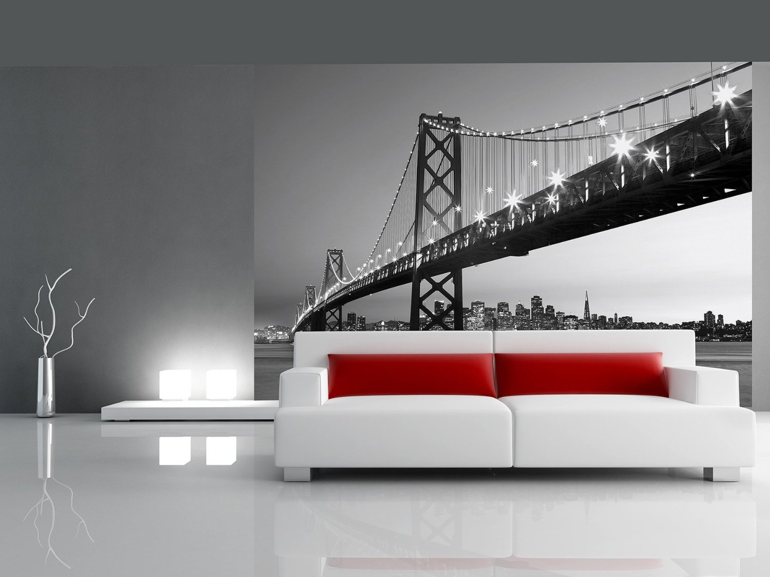 San Francisco Skyline Wall Mural DM134