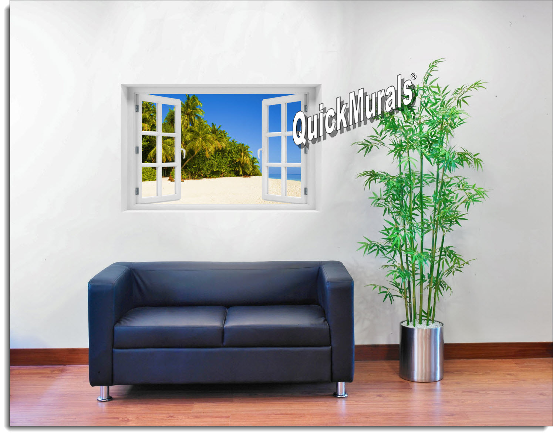Boracay Island Window Mural