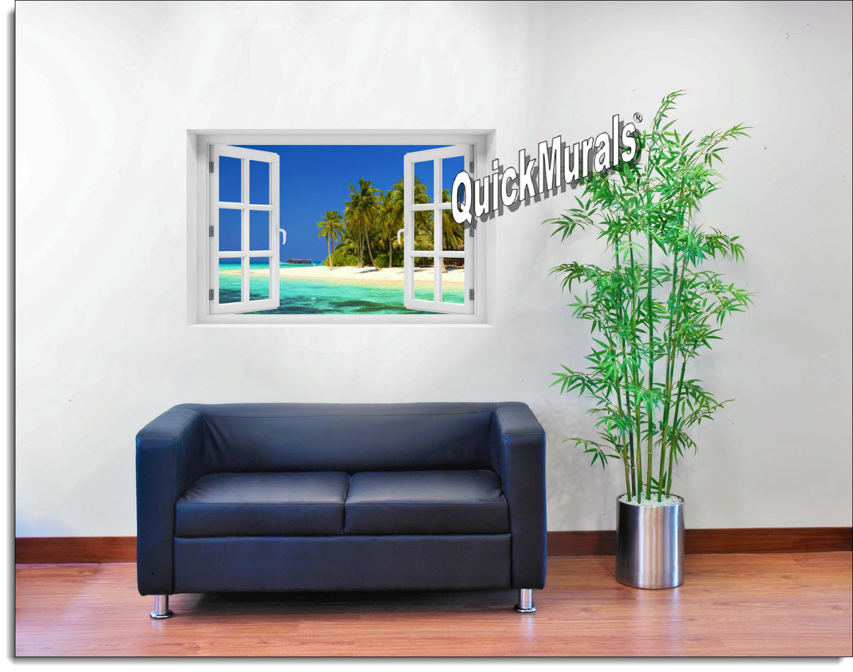 Cook Island Window Mural