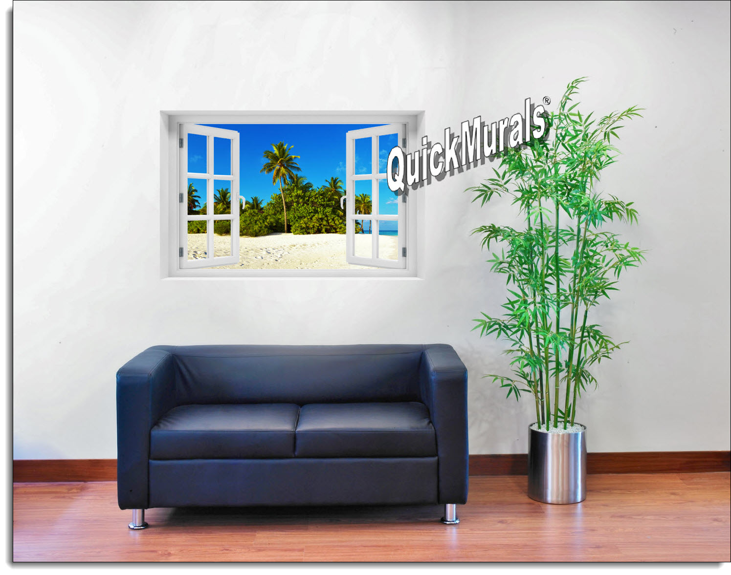 Curaco Island Window Mural