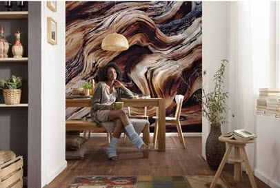 Wood Wall Mural old giant wall mural 8-520komar - themuralstore