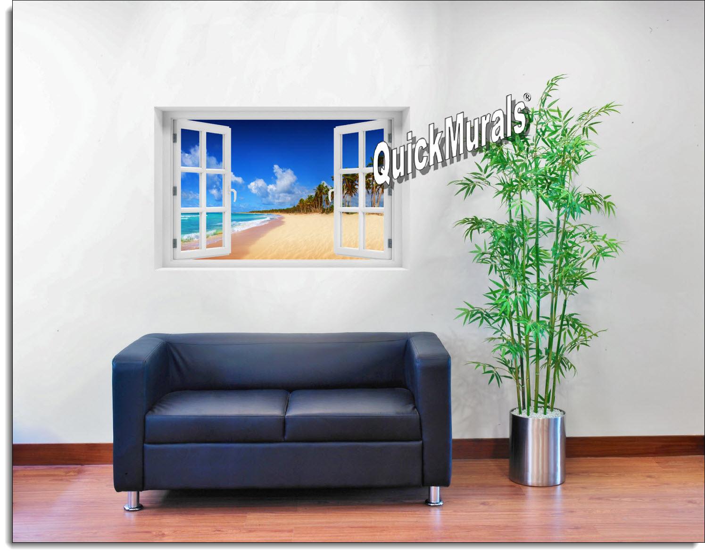 Seychelles Islands Window Mural
