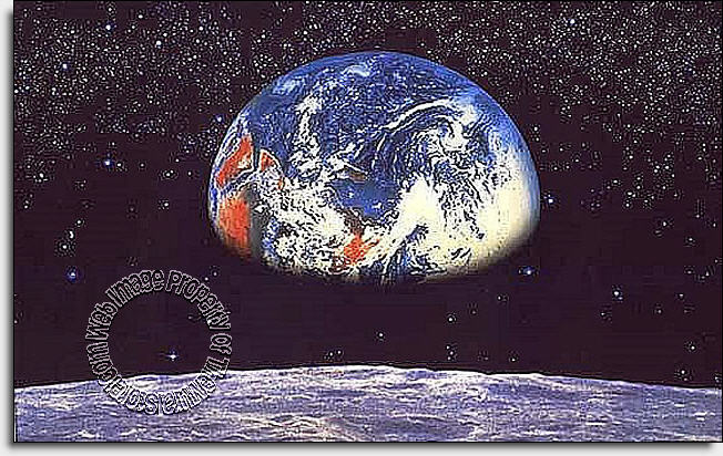 Earth wall mural planet earth wallpaper wall mural for Earth rising wall mural