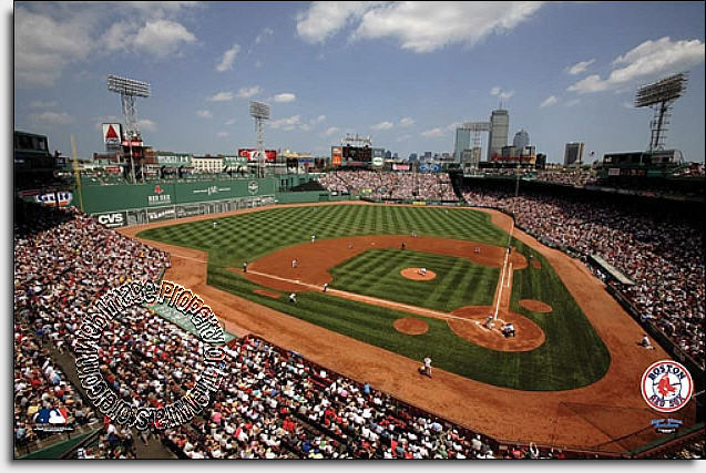 boston red sox fenway park wall mural themuralstore com inside fenway park at night mural wall decal shop