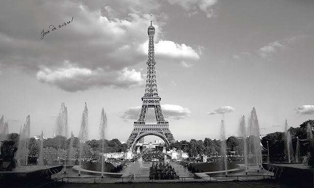 Eiffel tower wall mural mp4951mmp for Eiffel tower wall mural black and white