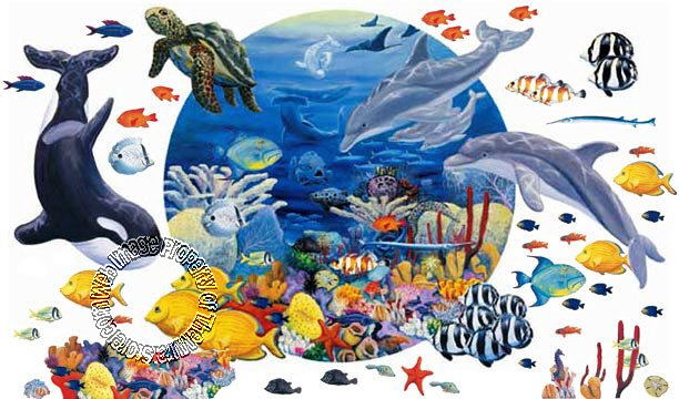 under the sea 20263 wall mural themuralstore com