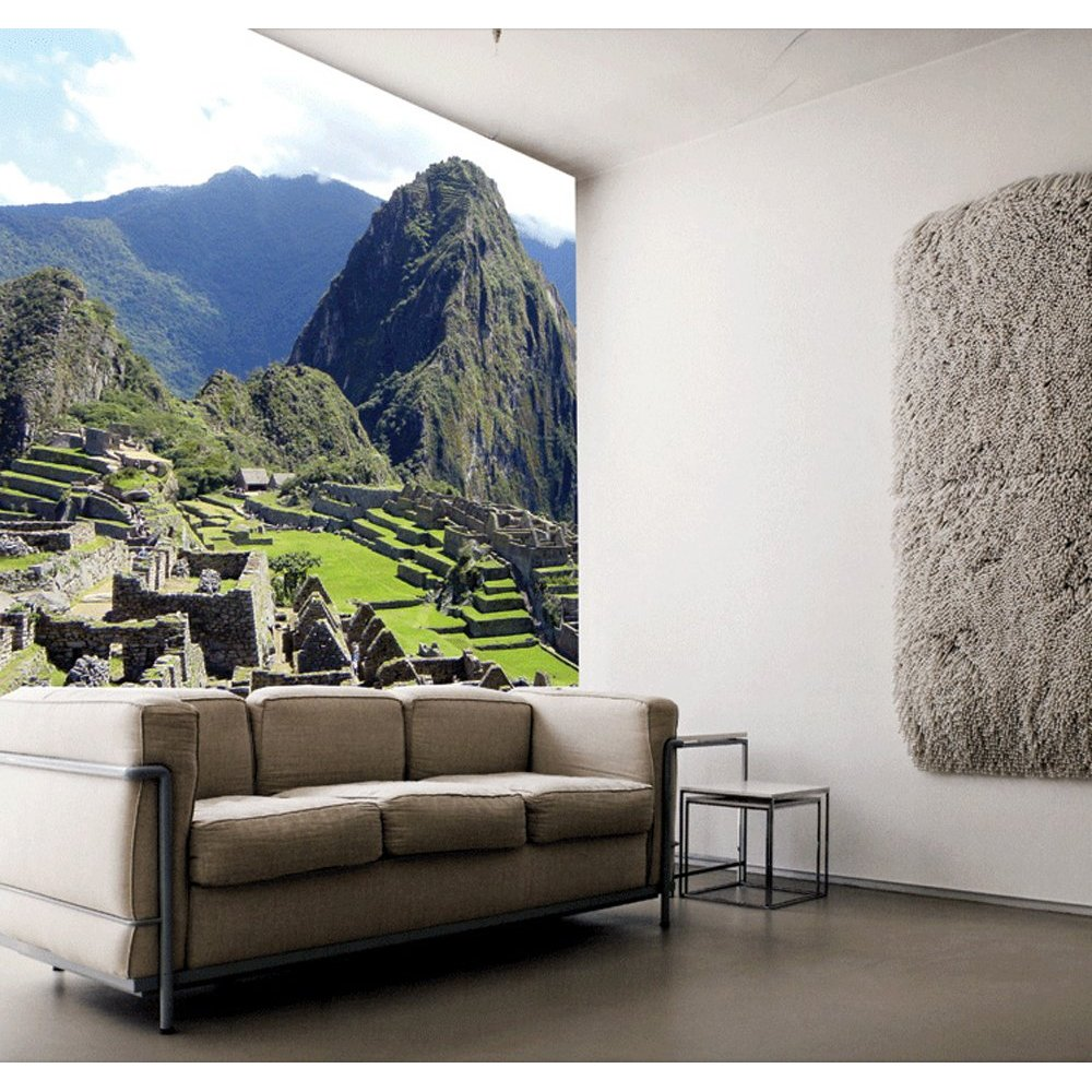 Machu picchu paste the wall mural by brewster 99076 for Brewster wall mural