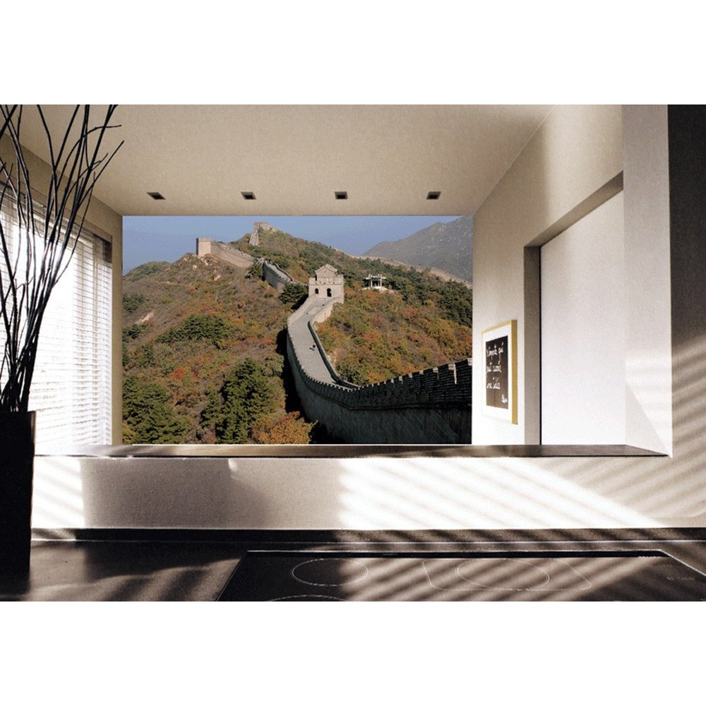 Great wall of china paste the wall mural by brewster 99077 for Cool wall mural