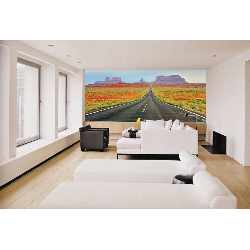 Road to heaven paste the wall mural by brewster 99083 for Brewster wall mural