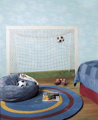 Soccer Net Mural BH1878M