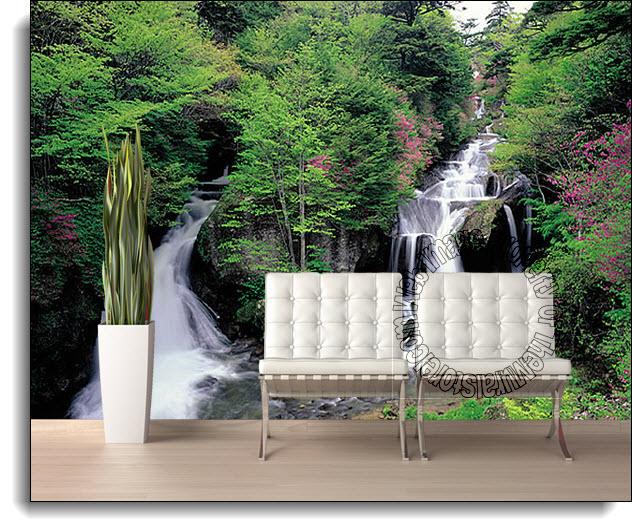 Twin Falls Mural PR1840 8040 by Perceptions
