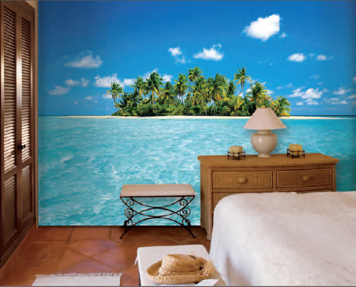 Maldive Dream Mural 289 by Ideal Decor