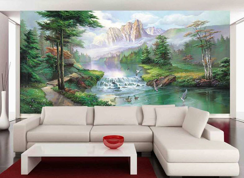 Misty Waters Mural 1618 6018