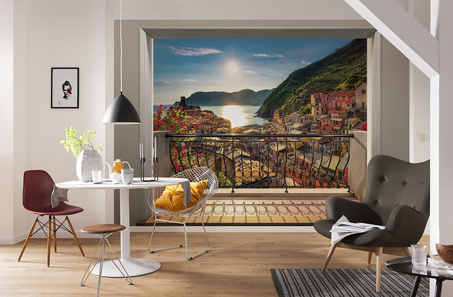 Vernazza Wall Mural by Komar