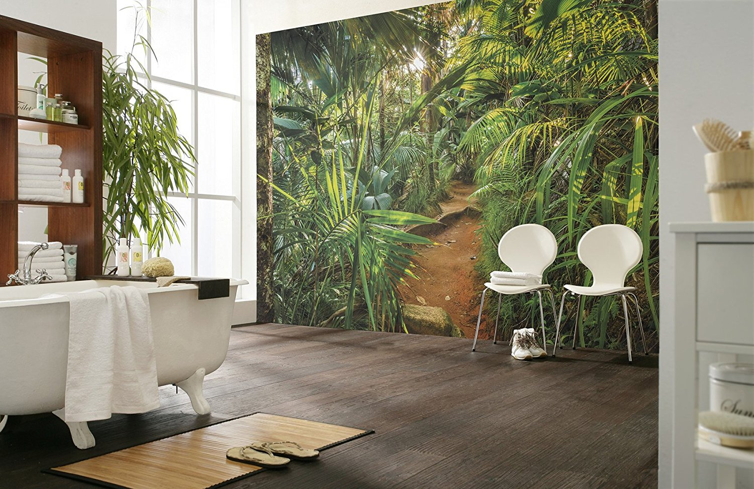 Jungle Trail Wall Mural 8-989 by Komar