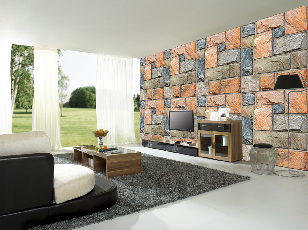 Colorful Mosaic Stone Wall Mural DS8108