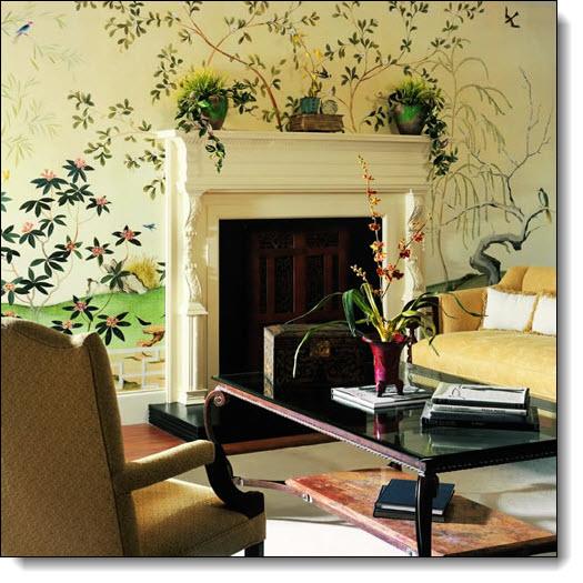 Oriental Garden Mural UR2043M