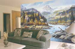 C827 Elk Country Wall Mural