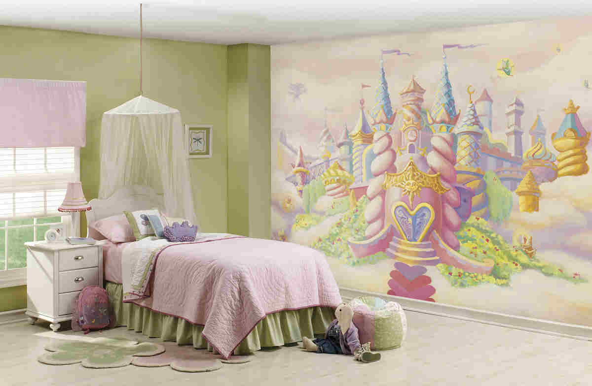 Princess Castle Mural C835