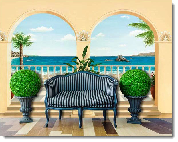 Terrasse Provencale Mural 103