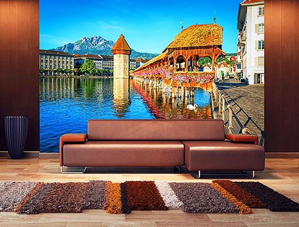 Lucerne Switzerland Wall Mural DM157