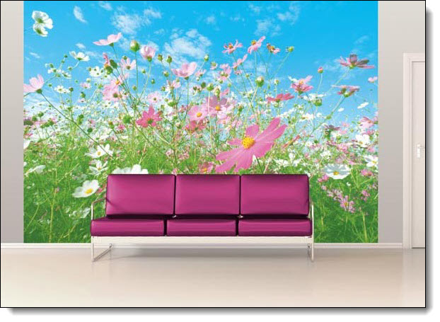 Flower Meadow Mural 281 DM281