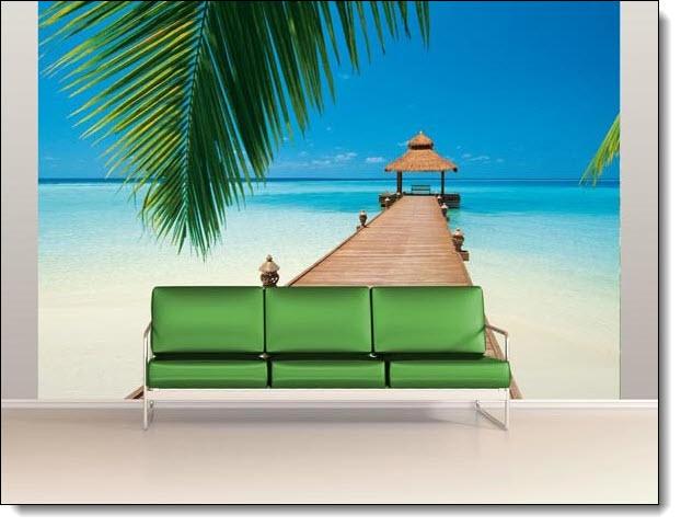 Paradise Beach Mural 284