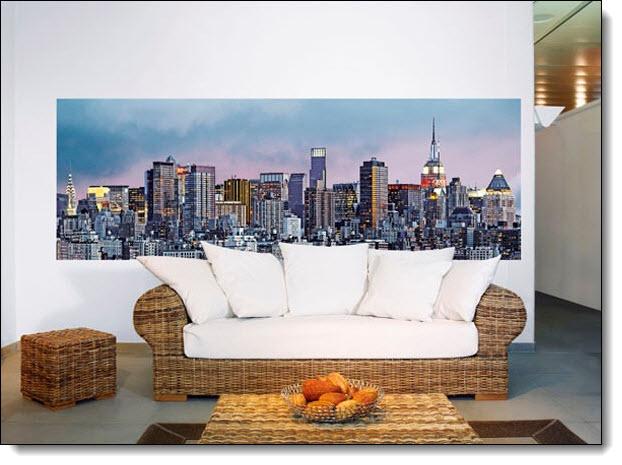 Manhattan Skyline Mural 370 DM370