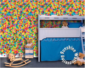 Jelly Beans Wall Mural DM423