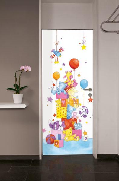 Little Friends Door/Wall Mural DM517