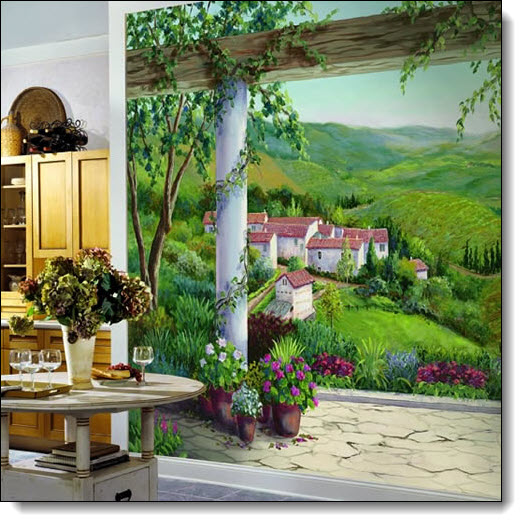 Italian Villa Mural RA0187M by York