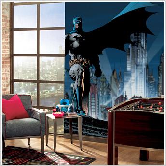 Batman City Mural JL1067M by Roommates