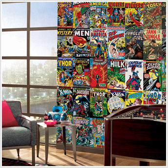 Marvel Comic Cover Mural JL1176M by York Roommates