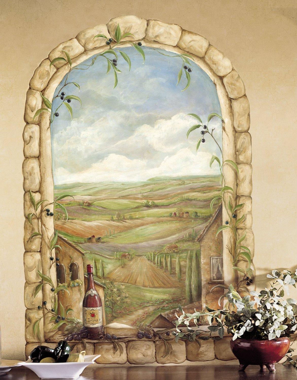 Tuscan View Mural KM7810M