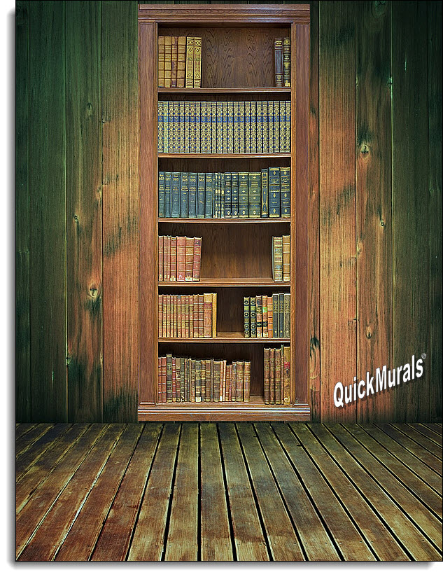 Library Wall Mural Self Adhesive Wall Murals The Mural Store