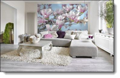 Magnolia Wall Mural 8-738