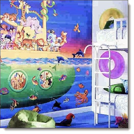 Noah's Sub Mural RA0184M