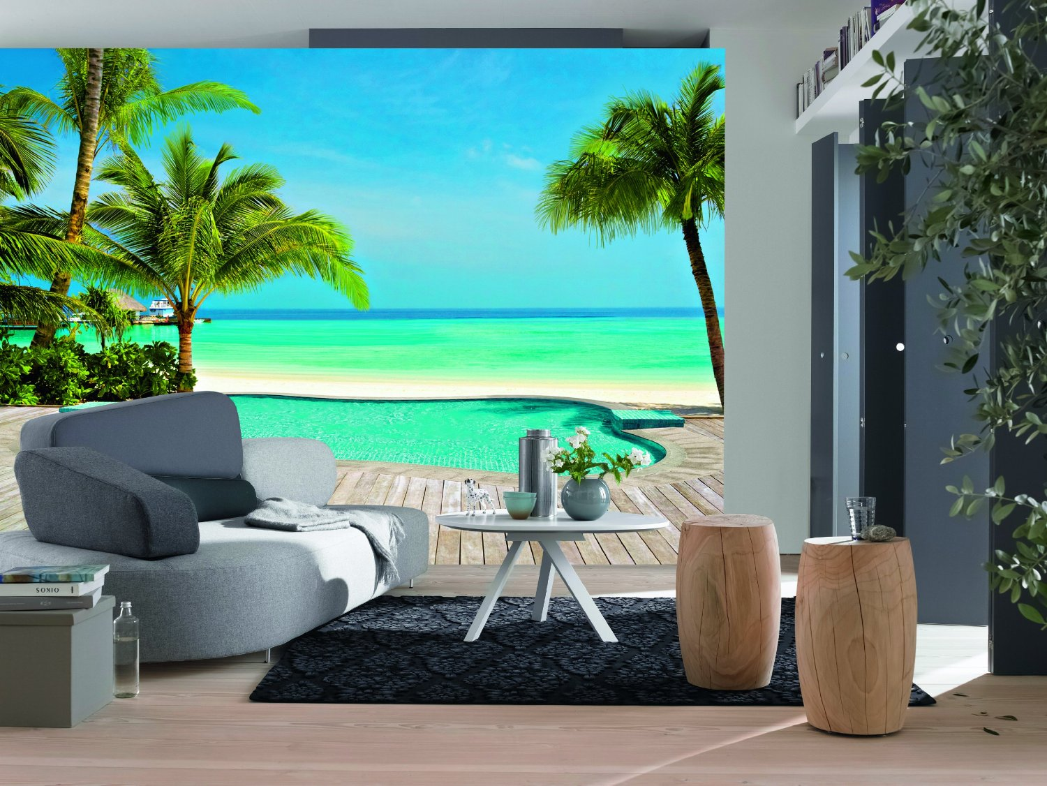 Pool Wall Mural DM127