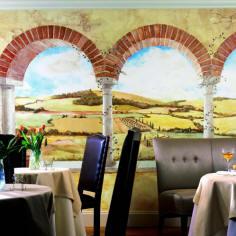 Tuscan Vista Mural UR2003M